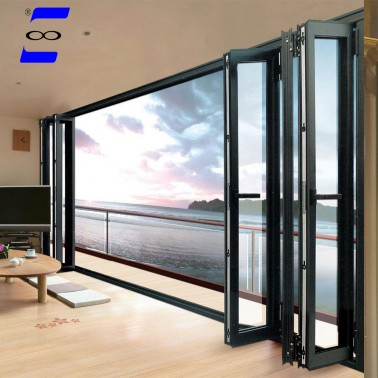 exterior aluminum folding glass door