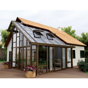 High quality custom made aluminum garden room glass sunroom