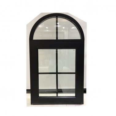 aluminum ccurved glass window