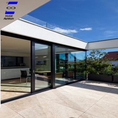 aluminum heavy duty lift sliding glass door