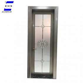 high quality interior frosted glass bathroom door