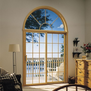 Hot selling sliding windows with curve design