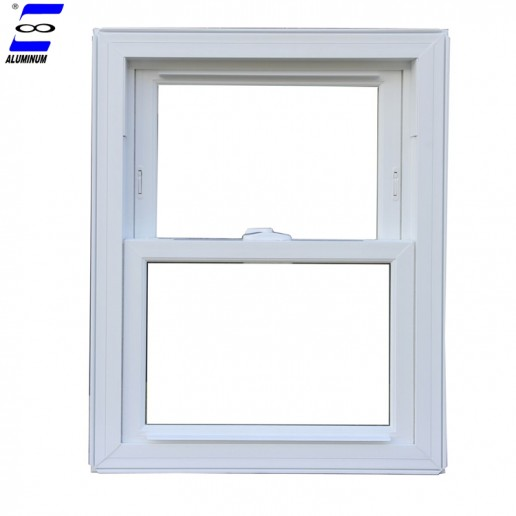 Modern aluminum frame single hung windows