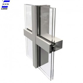 aluminum alloy price vacuum insulated glass curtain wall