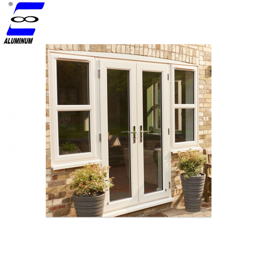 aluminum broken bridge frame casement entry door