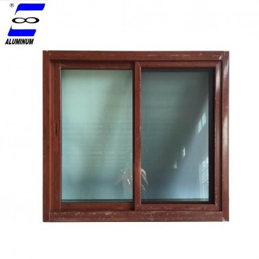 commercial balcony light blue tinted low-e insualted  laminated glass sliding window