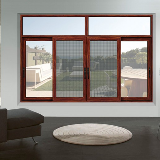 Customized double glazed tempered glass cheap sliding window