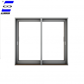 samll kitchen window size aluminum profile materials tinted glass reception sliding windows with mosquito net