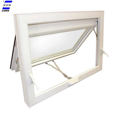 China customized good quality aluminum hung awning window