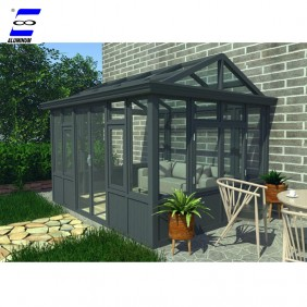 prefab house glass house balcony garden sunroom new design winter garden