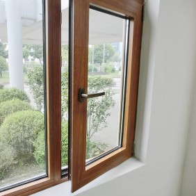 simple style tempered glass thermal break casement window price