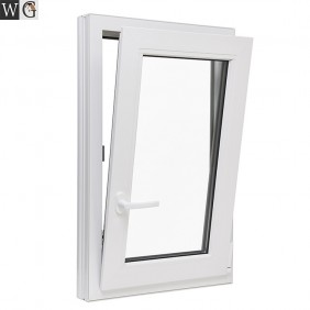 high quality double glass aluminium frame casement window