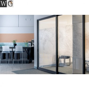 Noiseless design sliding doors office doors interior partition