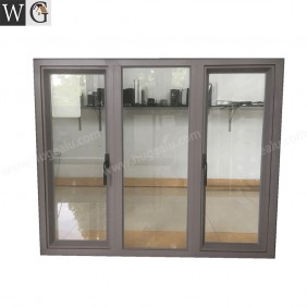 Miodle Fixed design thermal break aluminum casement window for sale