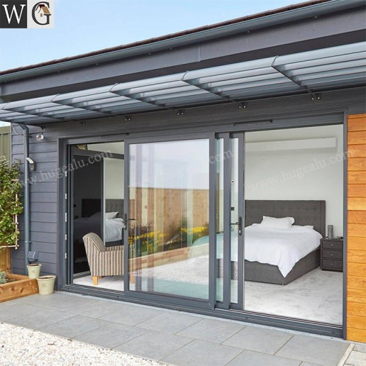 Exterior Main Entry Security Design Aluminum Glass Sliding Doors Prices