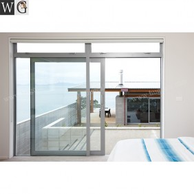 Exterior Soundproof Chinese Factory Aluminum Sliding Glass Doors For Sale