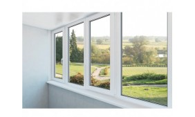 The aluminum windows assist to enhance the beauty